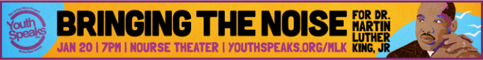 Graphic design for Youth Speaks